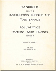 Rolls Royce Merlin Series II   Operation, Installation and Maintenance Manual