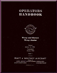 Pratt & Whitney R-1340  Aircraft Engine Operator Handbook  Manual