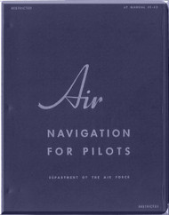 Departiment Air force Air Navigation for Pilot Manual  -  AF 51-43