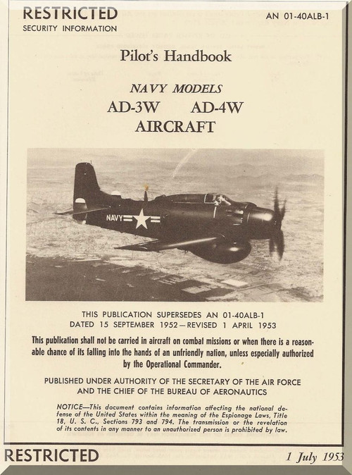 Douglas Aircraft Flight Manual
