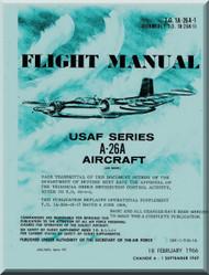 Douglas A-26 A  Aircraft Flight Manual  T.O. 1A-26A-1