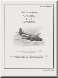 Douglas F3D-2,   Aircraft  Pilot's  Handbook Manual  ,  AN 01-40FAB-1, 1954