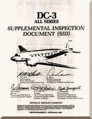 Douglas DC-3  Aircraft Supplement Inspection Document Manual