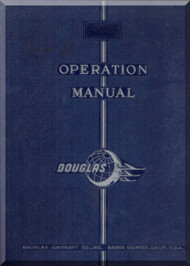 Douglas DC-3  Aircraft Operation  Instructions   Manual  , 1947