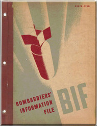 Bombardiers information File Manual Aircraft