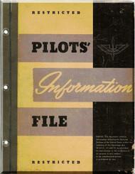 Pilot Information File Manual Aircraft