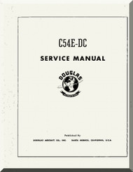 Douglas C-54E- DC Aircraft Service Manual