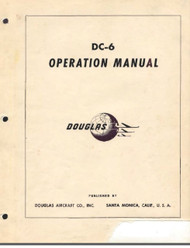 Douglas DC-6  Aircraft Operation  Manual - 1947
