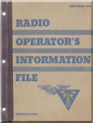 Radio Information File Manual Aircraft - 1944