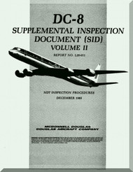 Douglas DC-8 series 63 Aircraft  Supplement Inspection Document  Manual