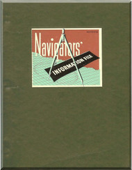 Navigators Information File Manual Aircraft B-17 B-24 B-25 B-29