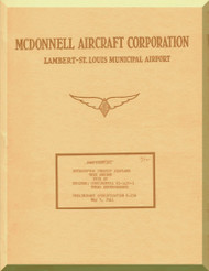Mc Donnell XP-67 Aircraft Aircraft Reports Technical Documents Manual