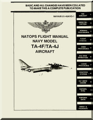 Mc Donnell Douglas TA-4F / TA-4J Aircraft Flight Manual NAVAIR 01-40AVD-1 , 1988