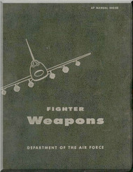 Fighter Weapons Gunnery Aircraft Flight Manual F-105 F-100 USAF