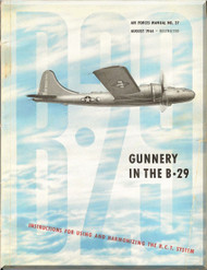 Boeing B-29  Aircraft Gunnery Manual - AAF 27