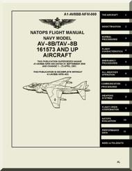 Mc Donnell Douglas AV-8B TAV-8B  Aircraft Flight  Manual  AN. A1-AV8BB-NFM-0000 ,