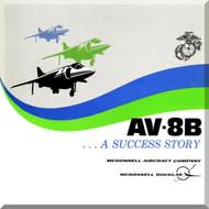 Mc Donnell Douglas AV-8B Aircraft Technical Brochure  Manual , 1977