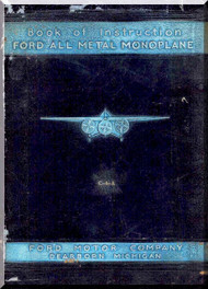 Ford Trimotor Instruction Handbook Manual 1929