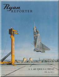 Ryan Reporter VertiJet X-13 Aircraft Manual