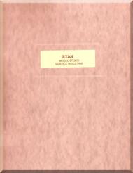 Ryan ST-3KR   Airplane Service Bulletins  Manual