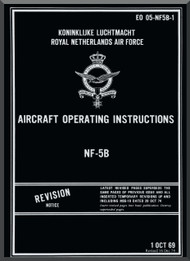 Northrop NF-5 B  Aircraft Operating Instruction  Manual EO 05-NF5B-1