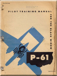 Northrop P-61 Aircraft  Pilot Training Manual