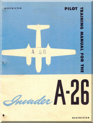 Douglas A-26  Aircraft  Pilot Training Manual
