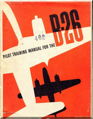 Martin B-26 Aircraft  Pilot Training Manual