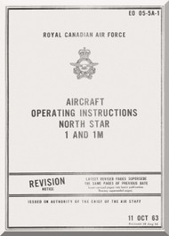 Canadair C-4 Northstar Aircraft Operating Instruction Manual - EO 05-5A-1