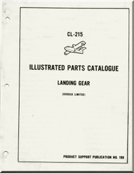 Canadair CL-215  Aircraft  Airplane Illustrated Parts Catalog  Manual  -  PSP 199