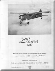 De Havilland L-20 Beaver Aircraft Flight Manual