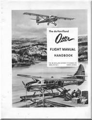 De Havilland DHC-3 Otter Aircraft Flight Manual - 1-3-1 - 1966