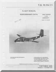 De Havilland C-7 Caribou Aircraft Flight Manual - Performance - 1C-7A-1-1