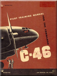 Curtiss C-46 Aircraft  Pilot Training Manual