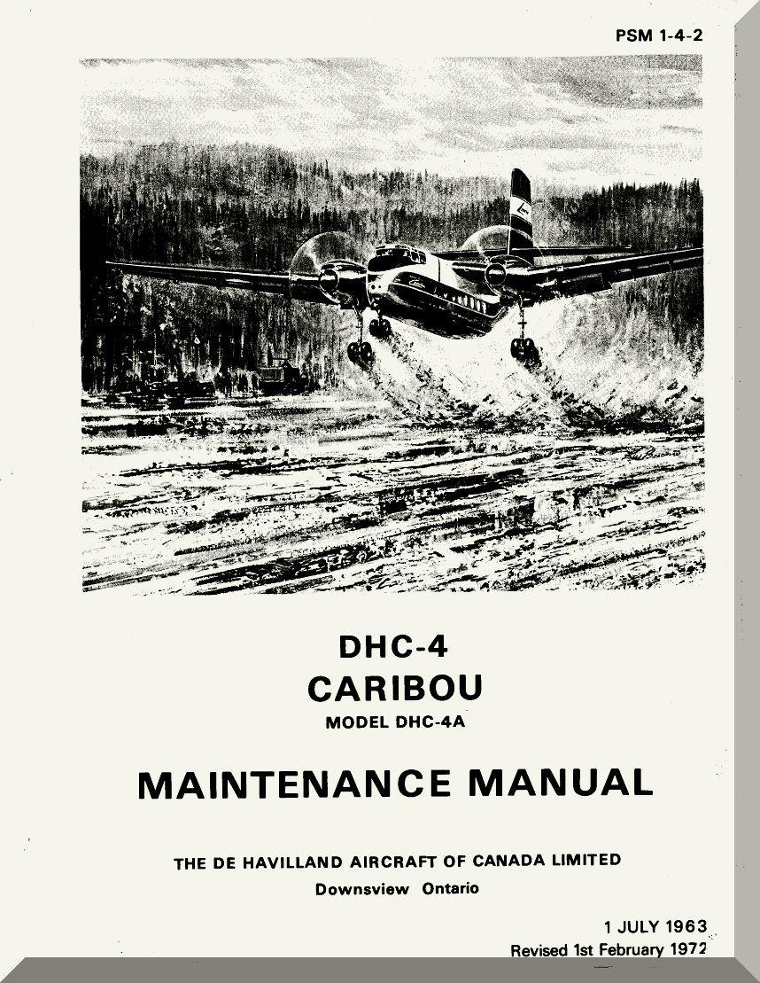 De Havilland DHC-4 Caribou Aircraft Maintenance Manual