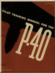 Curtiss P-40 Aircraft  Pilot Training Manual