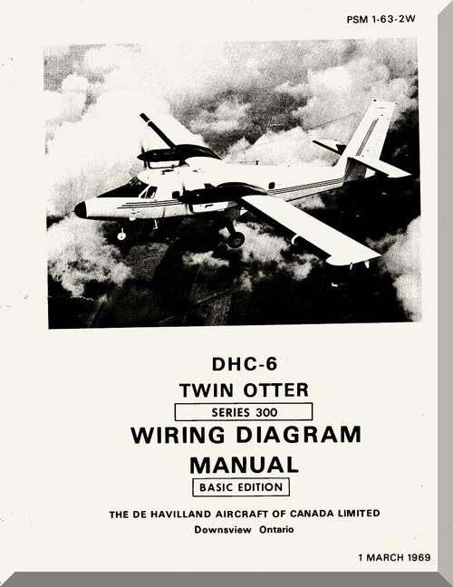 De Havilland Dhc-6 Aircraft Wiring Diagram Manual