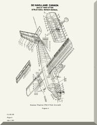 De Havilland Chipmunk Aircraft Structural Repair Manual