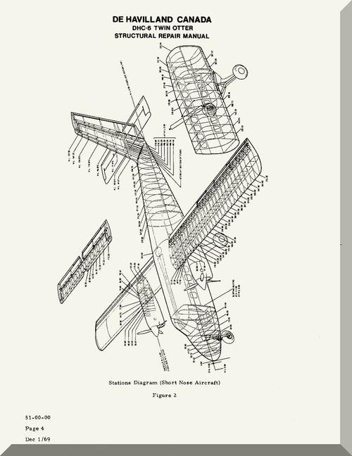 De Havilland DHC-6 Aircraft Structural Repair Manual