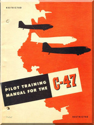 Douglas C-47  Aircraft  Pilot Training Manual