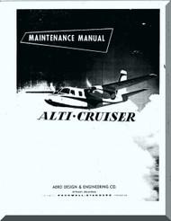 Aero Commander 720 Aircraft Maintenance Manual