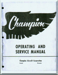 Aeronca 7 EF 7 EC Aircraft Service  Manual