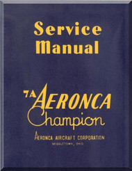 Aeronca 7A  Aircraft Service  Manual