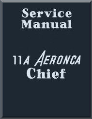 Aeronca 11 A  Aircraft Service Manual