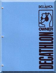 Bellanca Decathlon  Aircraft  Owner's    Manual, 1978