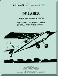 Bellanca Scout   Aircraft Service  Manual - 1978