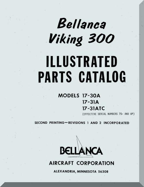 Bellanca Viking 300 Aircraft Illustrated Parts Catalog