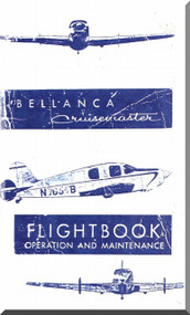 Bellanca Model Cruismaster  Aircraft  Flight Handbook Operation and Maintenance    Manual