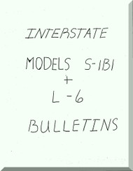 Interstate L-6 S1B1 Aircraft Service Bulletins Collection  Manual