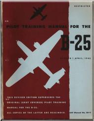 North American Aviation B-25 Aircraft  Pilot Training Manual - 1945 - AAF 50-11